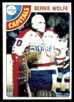 1978 Topps #81  Bernie Wolfe  Front Thumbnail