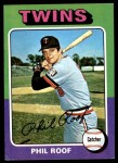1975 Topps Mini #576  Phil Roof  Front Thumbnail