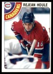 1978 Topps #227  Rejean Houle  Front Thumbnail