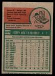 1975 Topps Mini #629  Joe Hoerner  Back Thumbnail