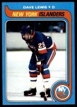 1979 Topps #44  Dave Lewis  Front Thumbnail