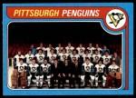 1979 Topps #256   Penguins Team Checklist Front Thumbnail