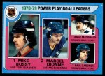 1979 Topps #5   -  Mike Bossy / Marcel Dionne / Lanny McDonald / Paul Gardner Power Play Goal Leaders Front Thumbnail