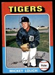 1975 Topps Mini #245  Mickey Lolich  Front Thumbnail