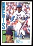 1984 Topps #740  Tom Seaver  Front Thumbnail