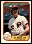 1981 Fleer #6 LEF Steve Carlton  Front Thumbnail