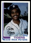 1982 Topps #504  Rick Peters  Front Thumbnail