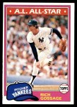 1981 Topps #460  Goose Gossage  Front Thumbnail