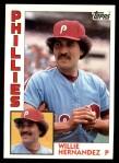 1984 Topps #199  Willie Hernandez  Front Thumbnail