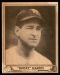 1940 Play Ball #129  Bucky Harris  Front Thumbnail