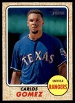 2017 Topps Heritage #335  Carlos Gomez  Front Thumbnail
