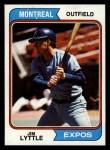 1974 Topps #437  Jim Lyttle  Front Thumbnail
