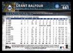 2015 Topps #661  Grant Balfour  Back Thumbnail
