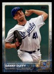 2015 Topps #378  Danny Duffy  Front Thumbnail