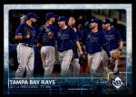 2015 Topps #669   Tampa Bay Rays Front Thumbnail
