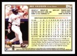 1999 Topps #65  Mo Vaughn  Back Thumbnail
