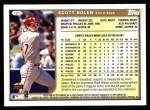 1999 Topps #125  Scott Rolen  Back Thumbnail