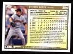1999 Topps #297  Shawn Estes  Back Thumbnail