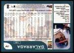 2001 Topps #72  Andres Galarraga  Back Thumbnail