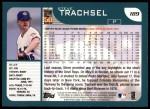 2001 Topps #189  Steve Trachsel  Back Thumbnail