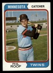 1974 Topps #388  Phil Roof  Front Thumbnail