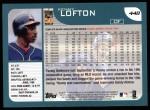 2001 Topps #448  Kenny Lofton  Back Thumbnail