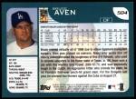 2001 Topps #504  Bruce Aven  Back Thumbnail