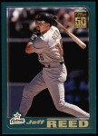 2001 Topps #548  Jeff Reed  Front Thumbnail