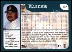 2001 Topps #717  Rich Garces  Back Thumbnail