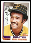 1982 Topps #458  Willie Montanez  Front Thumbnail