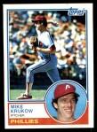 1983 Topps #331  Mike Krukow  Front Thumbnail