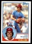 1983 Topps #510  Tug McGraw  Front Thumbnail
