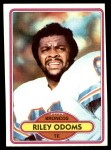 1980 Topps #51  Riley Odoms  Front Thumbnail
