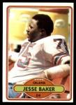 1980 Topps #100  Jesse Baker  Front Thumbnail