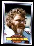 1980 Topps #148  Tom Banks  Front Thumbnail