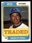 1974 Topps Traded #123 T  -  Nelson Briles Traded Front Thumbnail