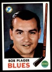 1969 Topps #13  Bob Plager  Front Thumbnail
