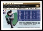 1996 Topps #58  Scott Sanders  Back Thumbnail