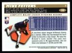 1996 Topps #142  Mike Fetters  Back Thumbnail