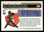 1996 Topps #148  Pat Hentgen  Back Thumbnail
