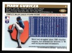 1996 Topps #157  Mark Gubicza  Back Thumbnail
