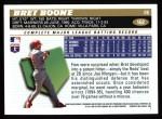 1996 Topps #162  Bret Boone  Back Thumbnail