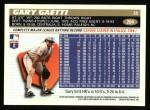 1996 Topps #204  Gary Gaetti  Back Thumbnail