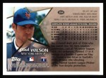 1996 Topps #214  Paul Wilson  Back Thumbnail