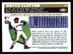 1996 Topps #61  Royce Clayton  Back Thumbnail