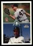1996 Topps #103   -  Chris Pritchett / Trenidad Hubbard AAA Stars Front Thumbnail