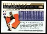 1996 Topps #114  Todd Stottlemyre  Back Thumbnail