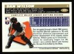 1996 Topps #117  Dan Wilson  Back Thumbnail
