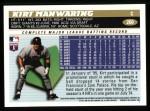 1996 Topps #260  Kirt Manwaring  Back Thumbnail