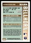 1996 Topps #22   -  Mark Bellhorn Draft Pick Back Thumbnail
